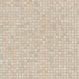 Colours Ceollini Beige Mosaic Effect Vinyl cut to