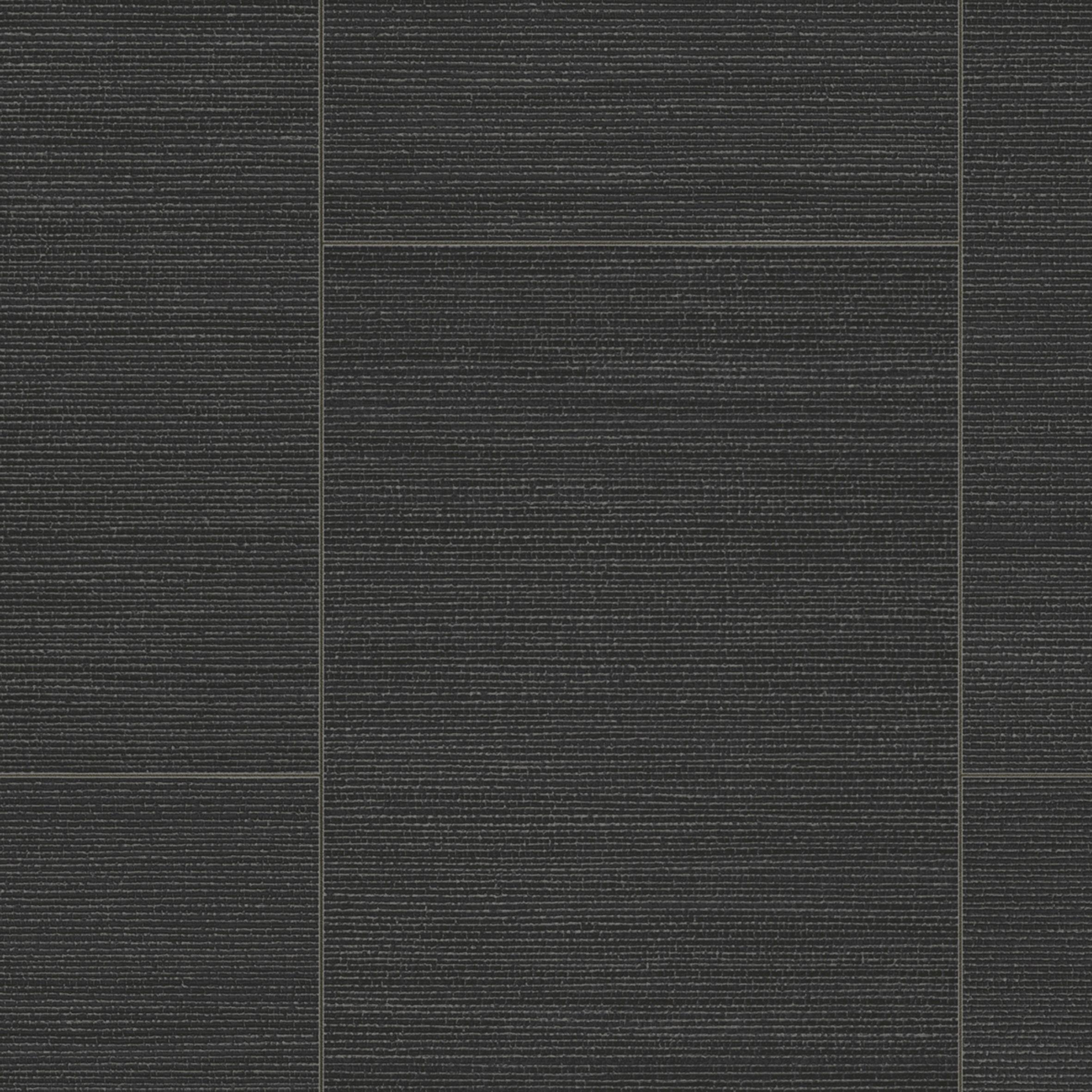 Dolcedo Black Stone Tile Effect Vinyl Cut To Chosen Length In Store