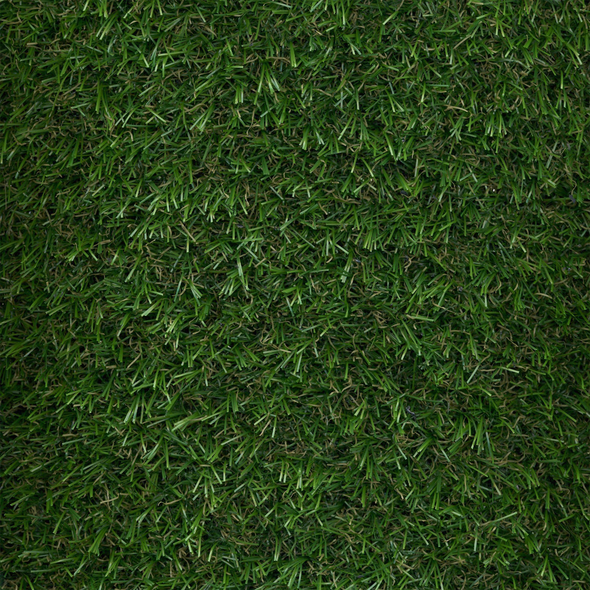 Eton medium density artificial grass w 2 m x t 15mm for Garden grass