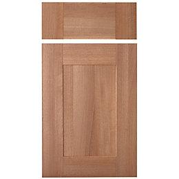 IT Kitchens Westleigh Walnut Effect Shaker Drawerline Door