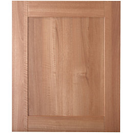 IT Kitchens Westleigh Walnut Effect Shaker Standard Door