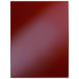 Cooke & Lewis Raffello High Gloss Red Slab