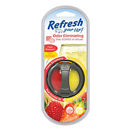 Refresh Strawberry & Lemonade Dual Car Diffuser
