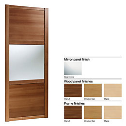 Made to Measure Shaker 3 Panel Wood Effect/