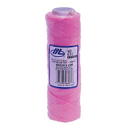Marshalltown Pink Braided Nylon Brick Line