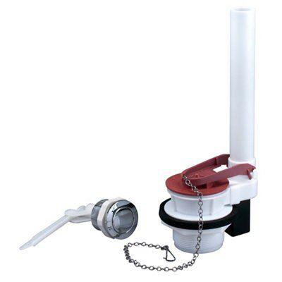 Fluidmaster Black Red Amp White Chrome Effect Plastic