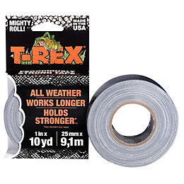 T-Rex Grey Duct Tape (L)9.14M (W)28mm