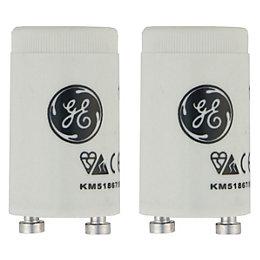GE Fluorescent Starter Switch 240V Pack of 2