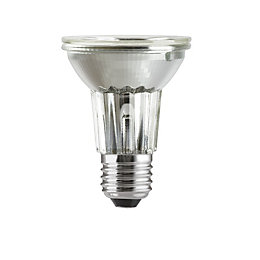 GE Edison Screw Cap (E27) 50W Halogen Reflector