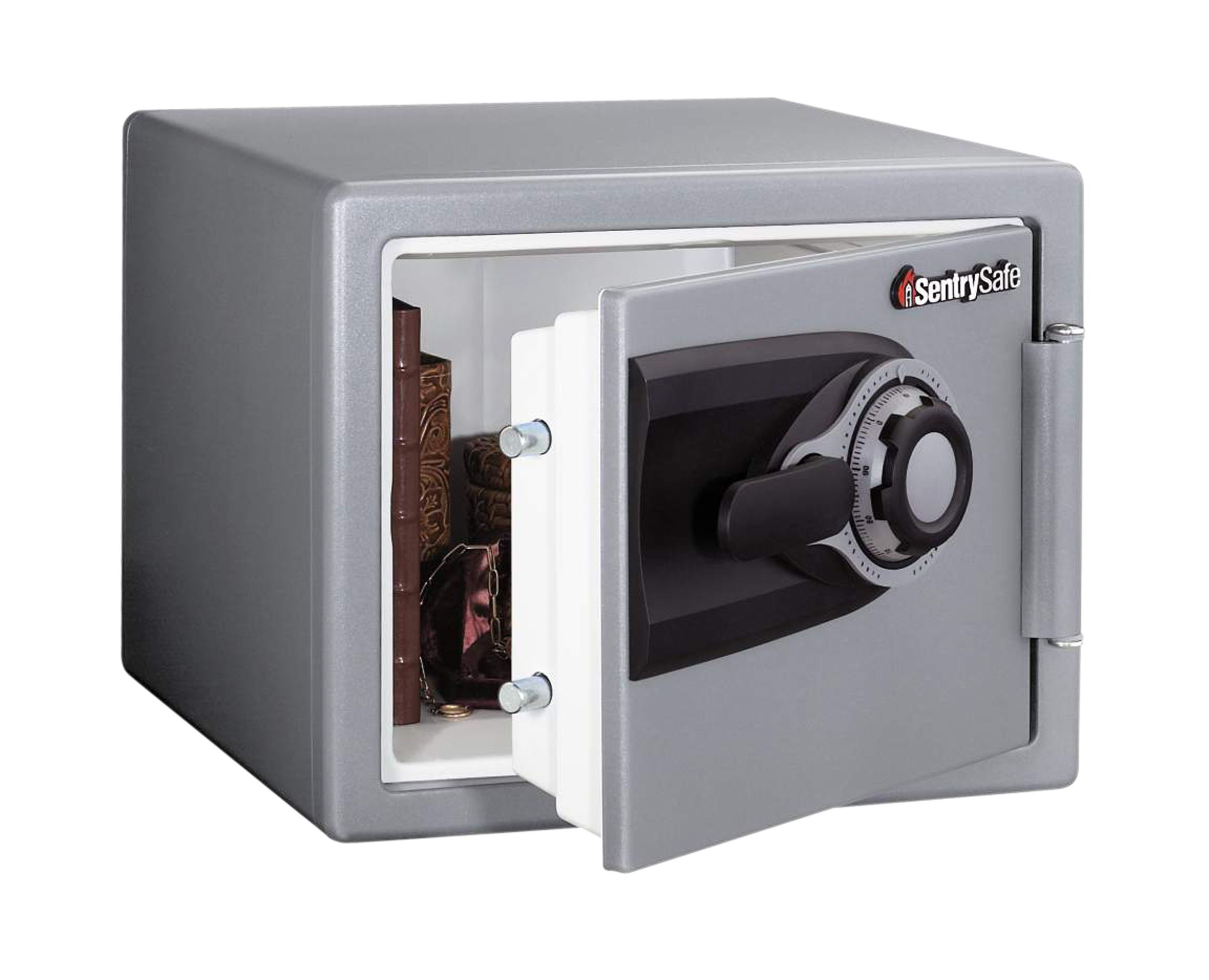 standard safe safes security alarms cctv electrical sentry 22 8l 3 number combination dial fire safe combination lock