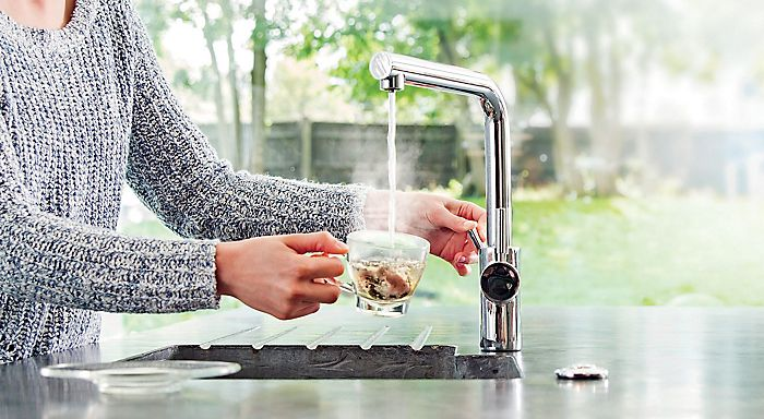 InsinkErator steaming hot water tap
