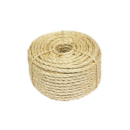 Natural Sisal Rope 6mm x 30.5m