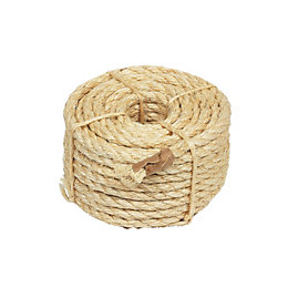 Natural Sisal Rope 9.5mm x 15.2m