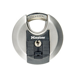 Master Lock Excell Steel 4-Pin Tumbler Cylinder Closed