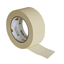 Duck All Purpose Cream Masking Tape (L)50M (W)50mm