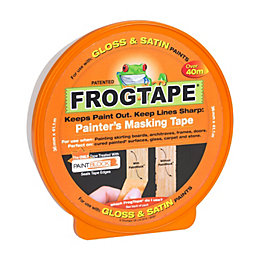 Frogtape Gloss & Satin Masking Tape (L)41.1m (W)36mm