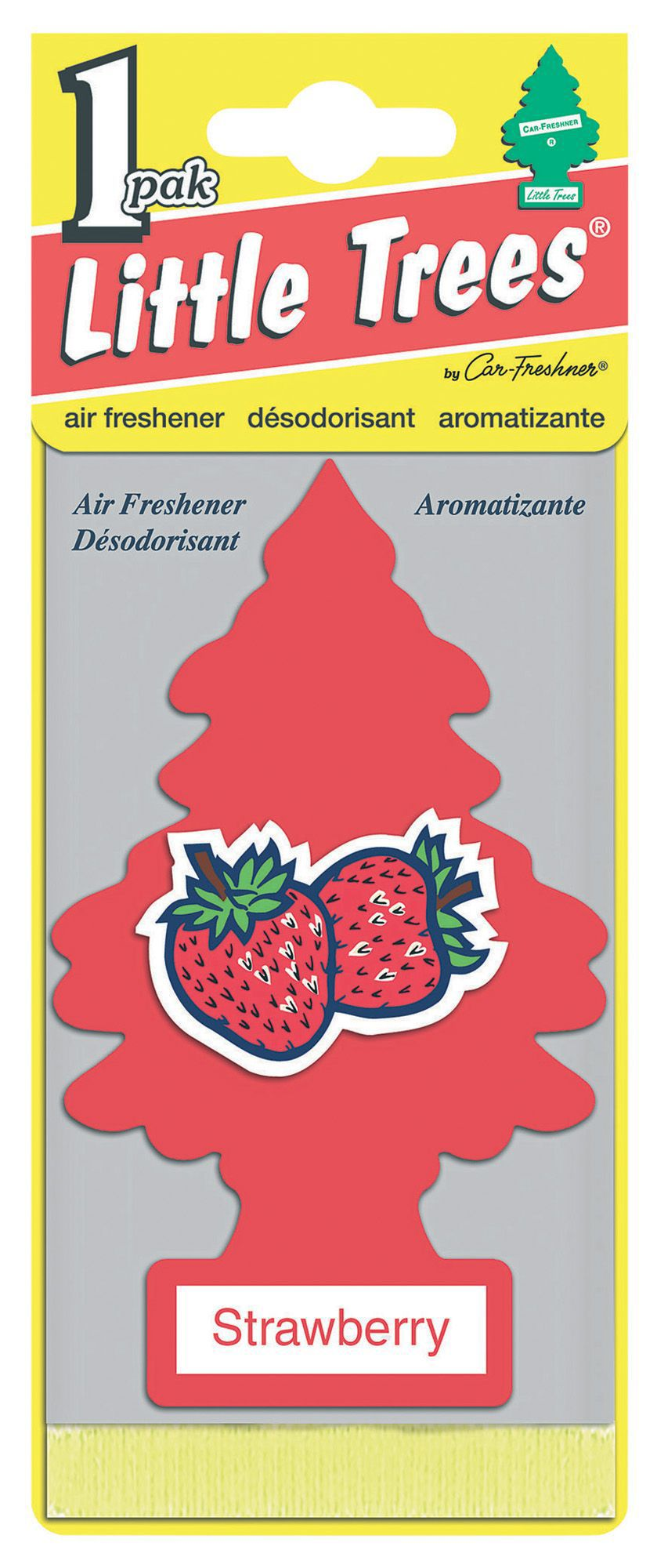 how to use little trees air freshener