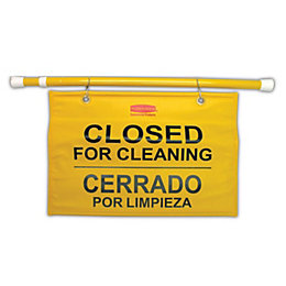 Metal & Plastic Site Safety Hanging Sign (H)724mm