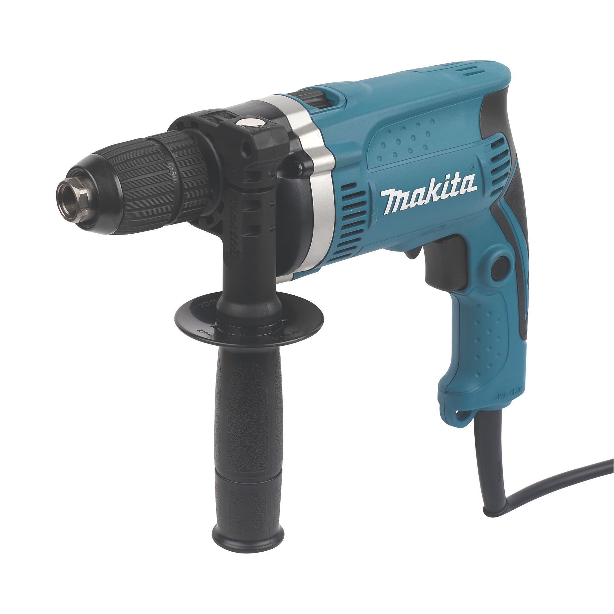 Makita 710w 240v Corded Keyless Chuck Brushed Hammer Drill
