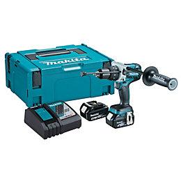 Makita LXT Cordless 18V 5Ah Li-Ion Combi Drill