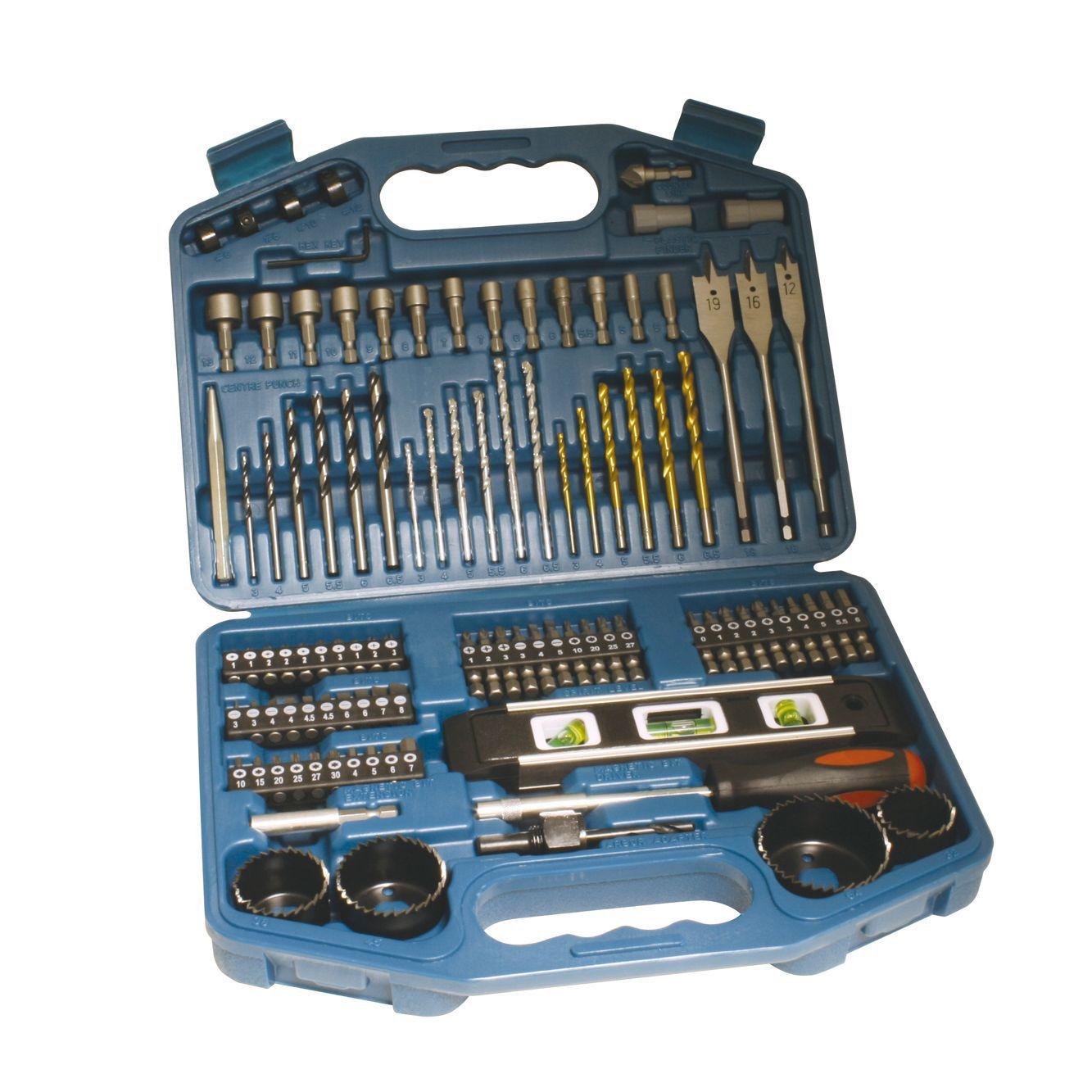 garage power tool storage ideas - Makita 3 6 5 mm Accessory Set 101 Pieces 101