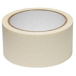 B&Q Masking Tape (L)25m (W)50mm