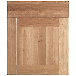 Cooke & Lewis Chesterton Solid Oak Drawer Line