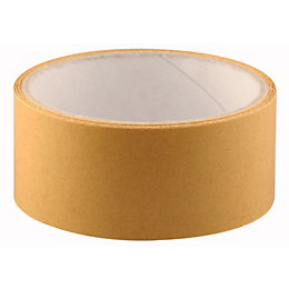 B&Q Brown Tape (L)5M (W)38mm