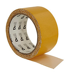 B&Q Extra Strong Double Sided Carpet Tape (L)10m