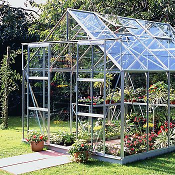 open greenhouse doors