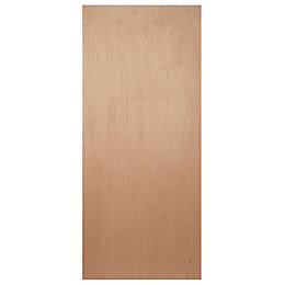 Flush Ply Veneer Internal Fire Door, (H)1981mm (W)838mm