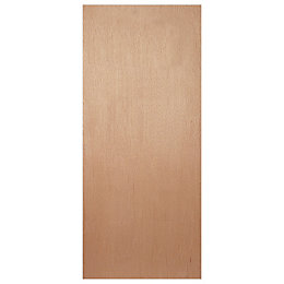 Flush Ply Veneer Internal Fire Door, (H)1981mm (W)762mm