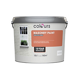 Colours Pure Brilliant White Smooth Matt Masonry Paint