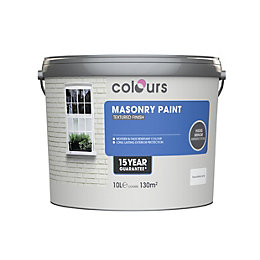 Colours Pure Brilliant White Matt Masonry Paint 10L