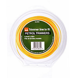 B&Q Trimmer Line to Fit Petrol Trimmers (T)2.4mm