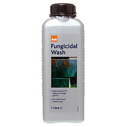 B&Q Exterior Fungicidal Wash 1L