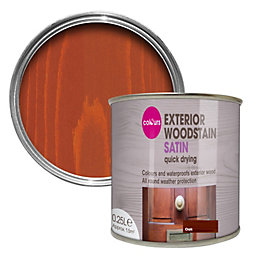Colours Oak Satin Wood Stain 250ml