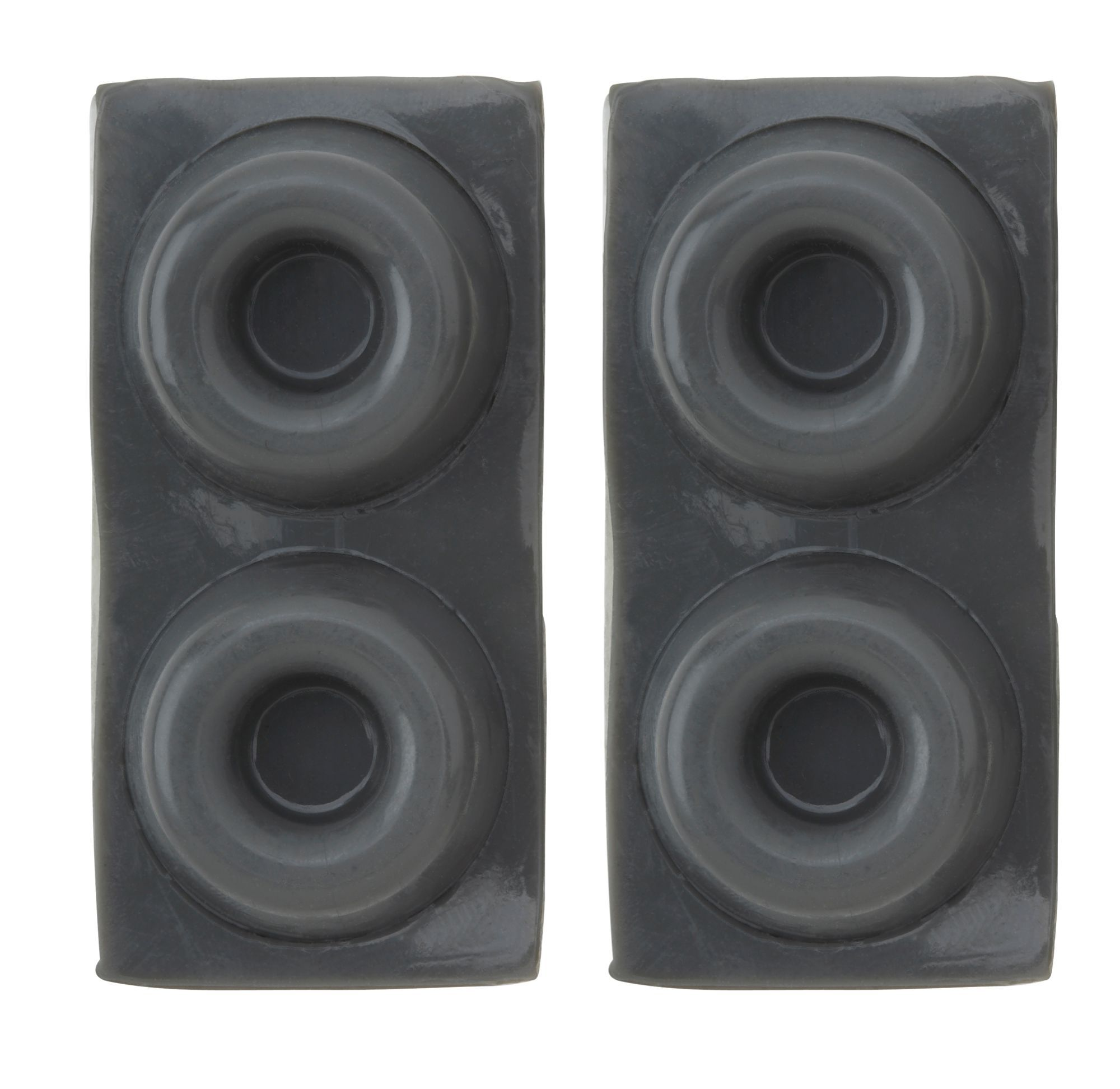 Bu0026Q Grey Rubber Self Adhesive Feet (Dia)22mm, ...