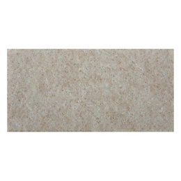 B&Q Cream Felt Self Adhesive Pad Protector (Dia)50mm