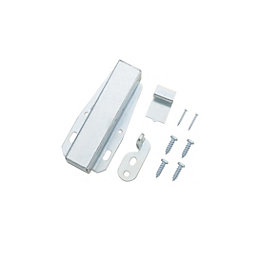 B&Q Zinc Effect Auto Latch