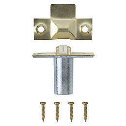 B&Q Brass Effect Roller Catch