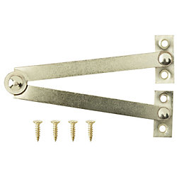 B&Q Brass Effect Carbon Steel Joint Stay (L)94mm
