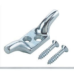 B&Q Zinc Cleat Hook