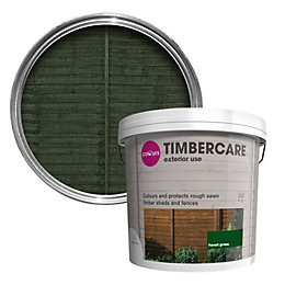 Colours Timbercare Forest Green Gloss Shed & Fence