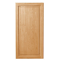 Cooke & Lewis Chesterton Solid Oak Classic Fridge