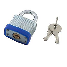 B&Q Steel 4-Pin Tumbler Padlock (W)30mm