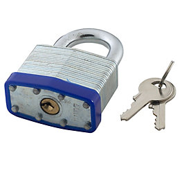 B&Q Steel 4-Pin Tumbler Padlock (W)50mm