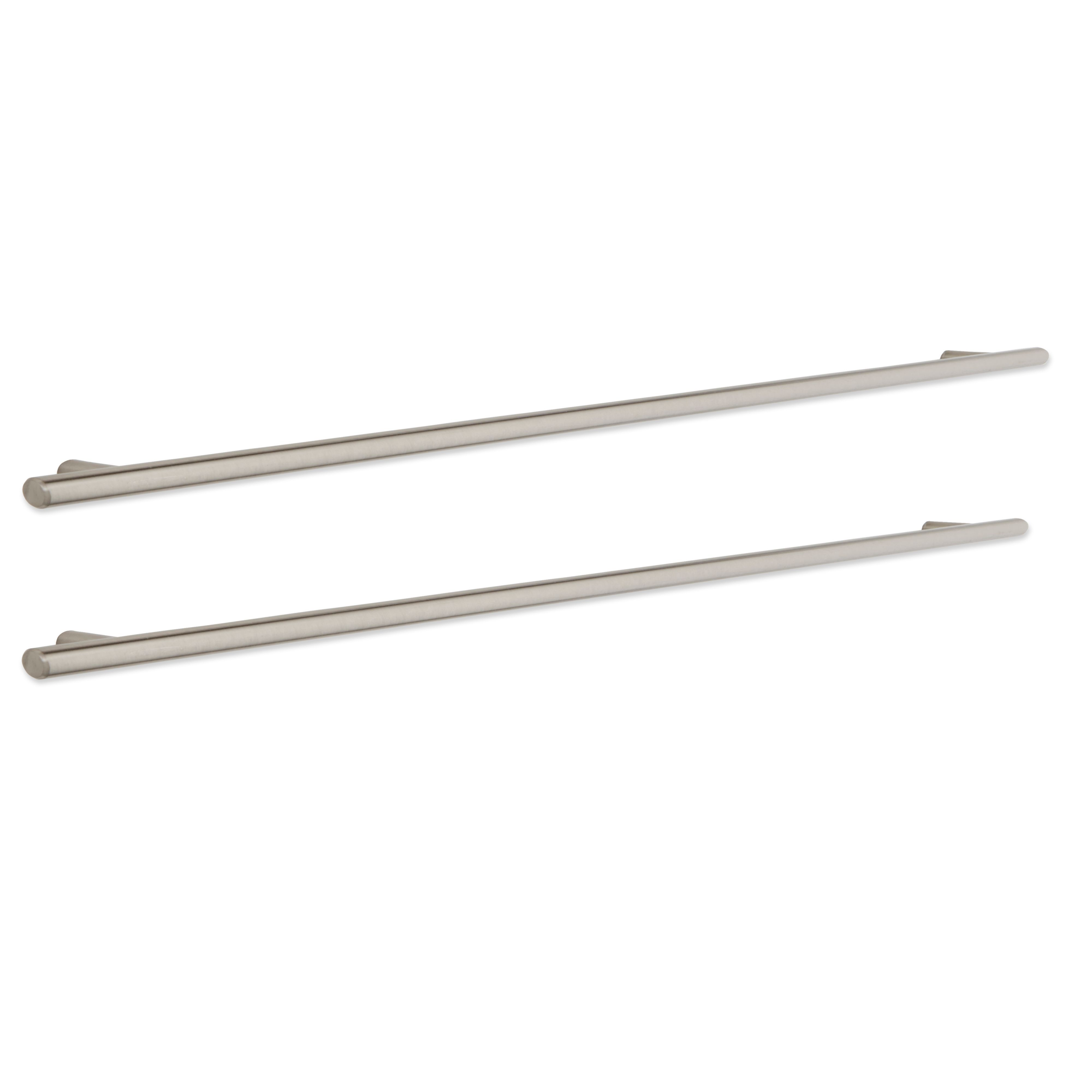 It Kitchens Brushed Nickel Effect Bar Cabinet Handle, Pack Of 2