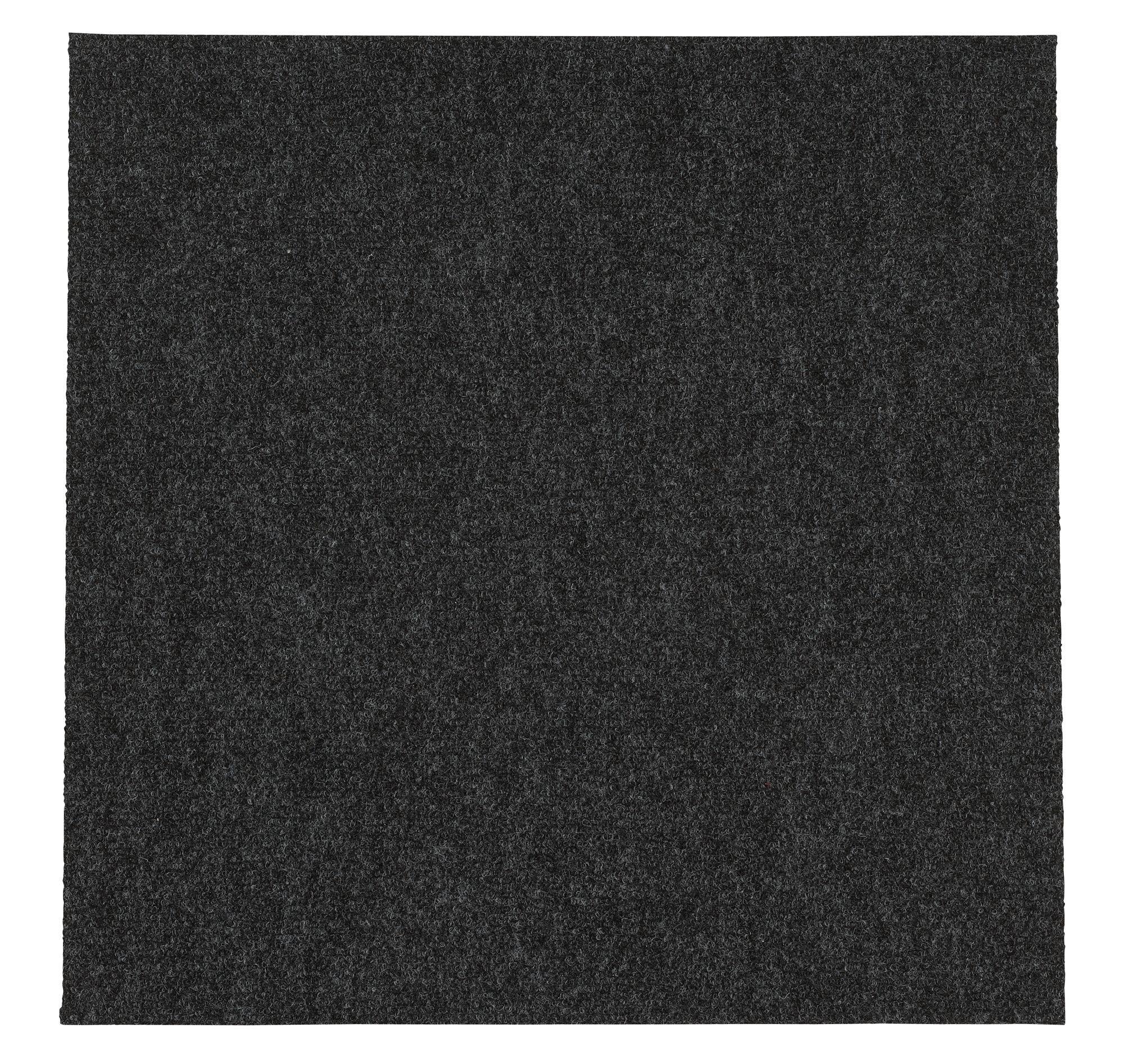 B Q Grey Carpet Tile Pack Of 10