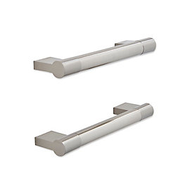 IT Kitchens Brushed Nickel Effect Bar Cabinet Handle,